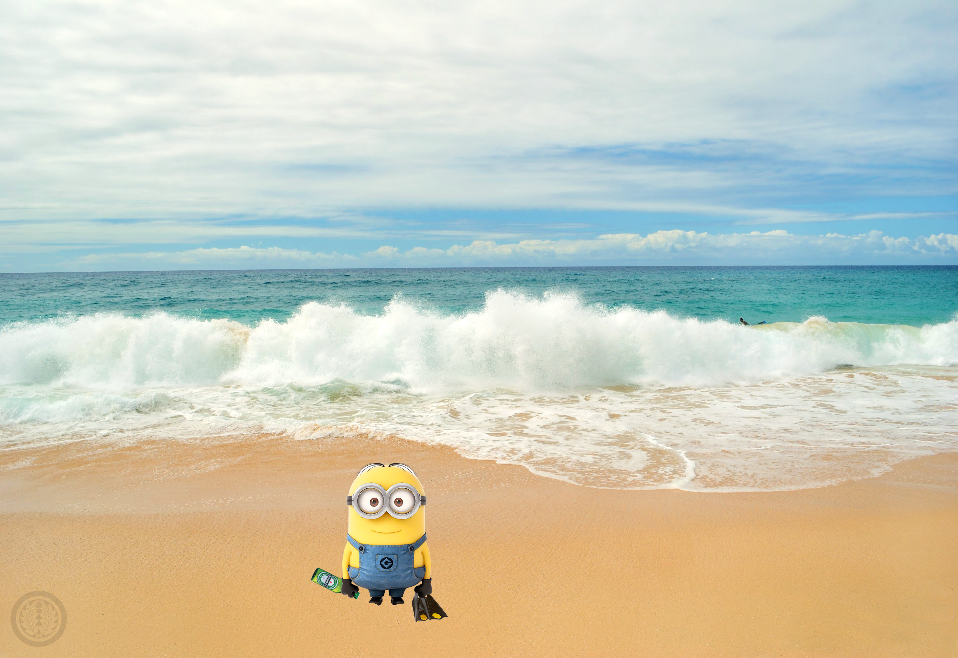 Body Surfing Minions