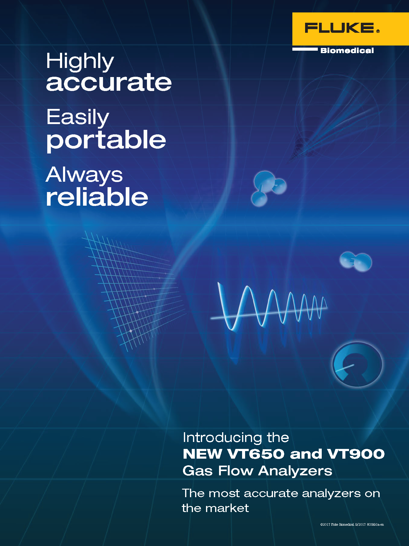 Fluke Biomedical New Product, VT650/VT900 Folder Cover