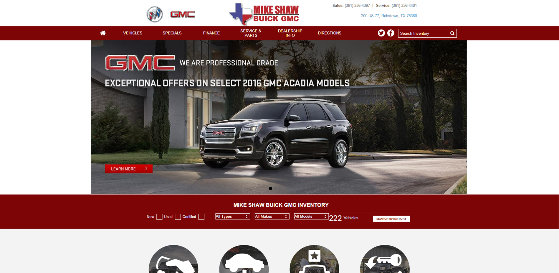 Mike Shaw Buick GMC, featured